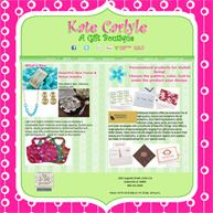 Kate Carlyle - A gift boutique on Augusta Street Greenville SC